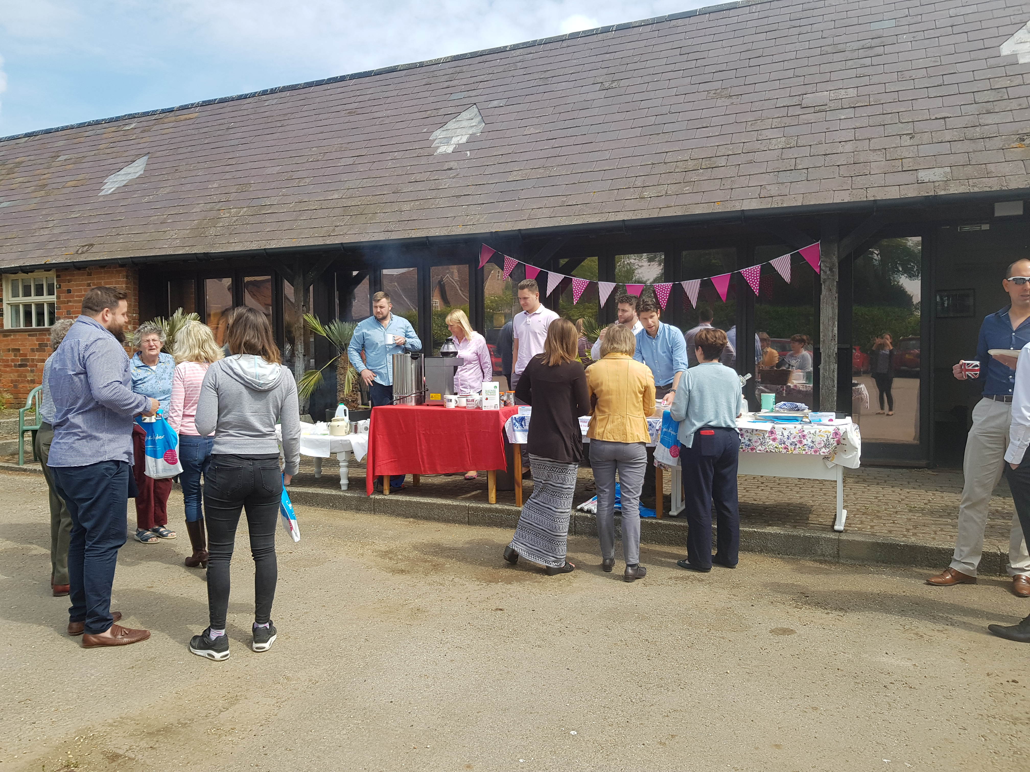 Stonor holds a coffee morning for Sue Ryder